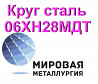 Круг сталь 06хн28мдт Екатеринбург