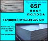 Лист 65г, пружинный лист сталь 65г, полоса ст.65г Екатеринбург